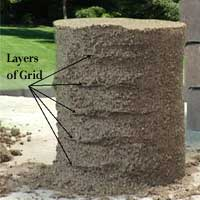 sand castle grid demonstration