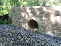 West Windsor Gardens Retaining Wall