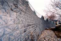 Alpine Summit Retaining Wall
