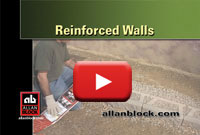 How to build a reinforced retaining wall