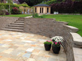 Residential retaining wall applications