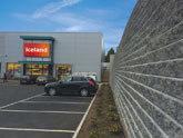Commercial retaining wall projects