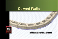 Building curved walls