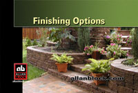 Finishing Options for Your Retaining Wall