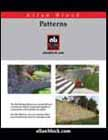 Building Patterned Retaining Walls