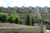 Commercial Allan Block Retaining Wall